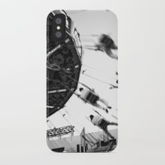 At the Fair: The Swings iPhone X Slim Case