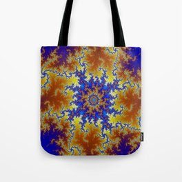 Fractal Checkerboard Tote Bag