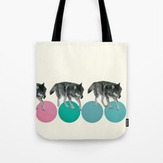 Hungry Wolves Tote Bag