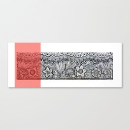 Four sides of a box (ii) Canvas Print
