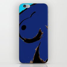 Recline in Blue iPhone & iPod Skin