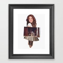 ROYALS Framed Art Print