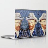 van gogh Laptop & iPad Skins featuring Van Gogh  by klausbalzano