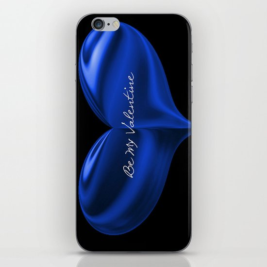 Be my Valentine Heart iPhone & iPod Skin