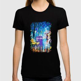 Little Tardis With The Girl T-shirt