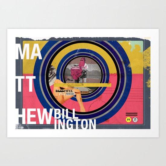 Matthew Billington Art Print