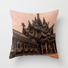 The Sanctuary of Truth Throw Pillow