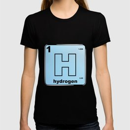 Hydrogen From The Periodic Table T-shirt