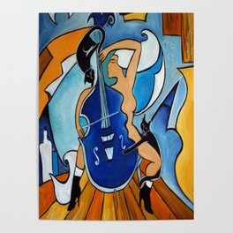 Sonata in Blue Poster