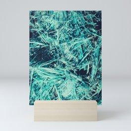 Sea sling fibers texture Mini Art Print