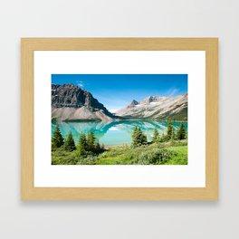Bow Lake Framed Art Print