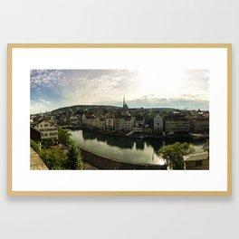 Zurich, Switzerland Framed Art Print