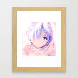 Rem (Re:ZERO) Framed Art Print