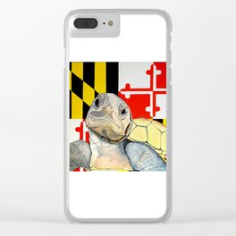 Go Terps! Clear iPhone Case
