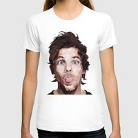 louis tomlinson T-shirts featuring Louis Tomlinson - One Direction by jrrrdan