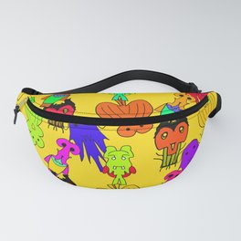 Yellow Clown Fanny Pack