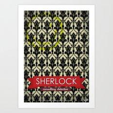 Sherlock Poster 1 Art Print