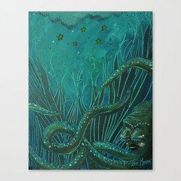 Octigypsy Canvas Print