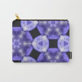 Purple Passion Pattern 6 Carry-All Pouch