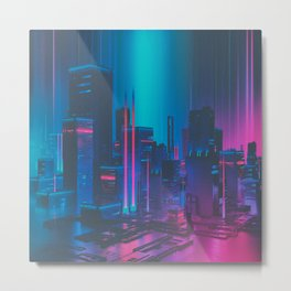 MAINFRAME-1982 (everyday 12.21.15) Metal Print