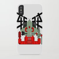 knight iPhone & iPod Cases featuring knight by  Toyoya Li