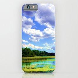 Lake Wingra, Wisconsin iPhone Case