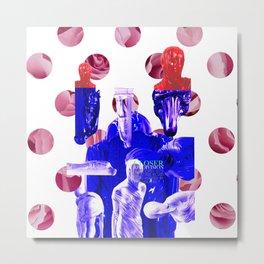 "Joy Division ""Closer"" Album Cover Concept Metal Print"