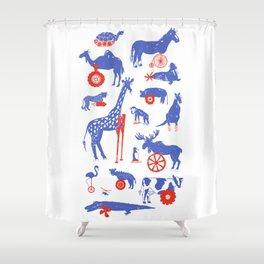 Animal Amputee's Shower Curtain