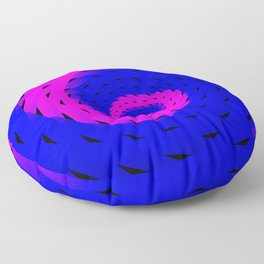 rotation spiral Floor Pillow