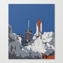 Last Launch Canvas Print