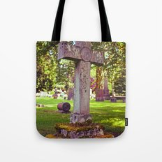 Cemetery Spring Tote Bag
