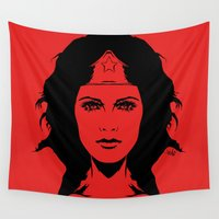 revolution Wall Tapestries featuring Wondering Revolution by Vee Ladwa