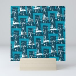 Scribbly Pattern Mini Art Print