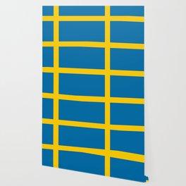 National flag of Sweden Wallpaper