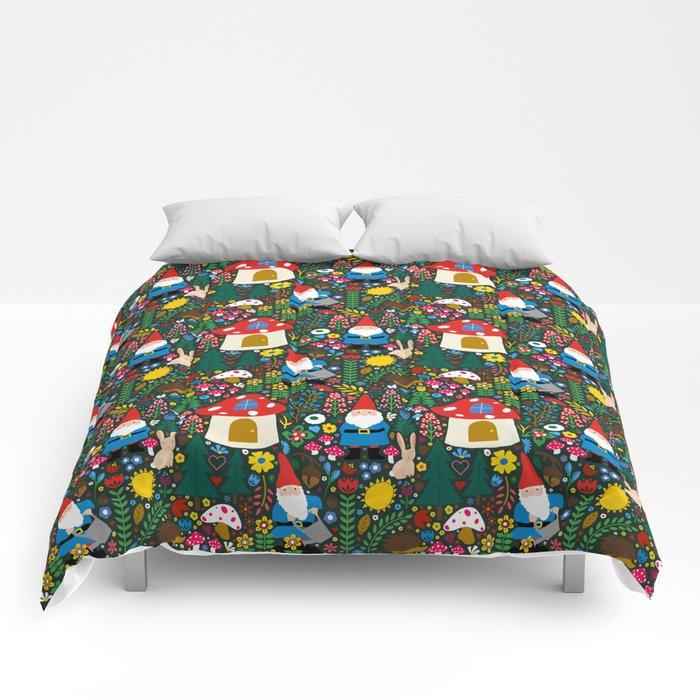 Gnome Home Comforters