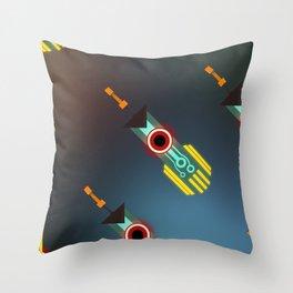 Transistor Swords Throw Pillow