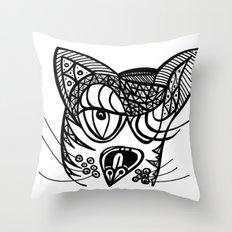 Gata Throw Pillow