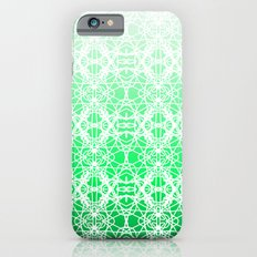 Intricate Ombre Green Slim Case iPhone 6s