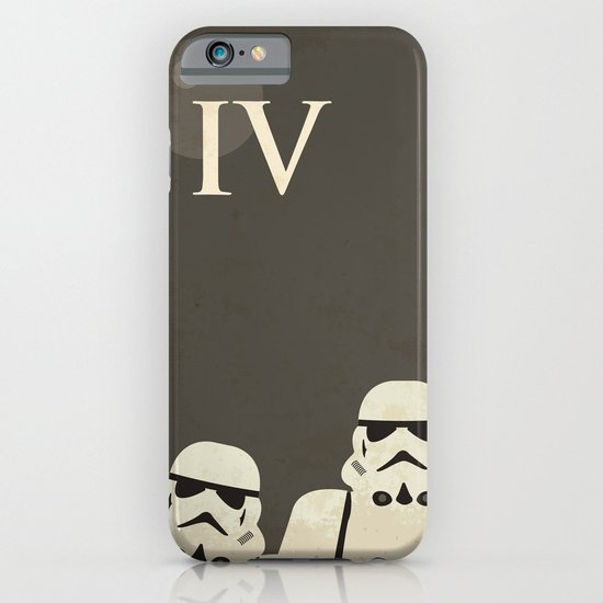 Star Wars Minimal Movie Poster iPhone & iPod Case