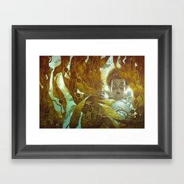 In the Kelp Forest Framed Art Print