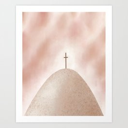 God's Rescue Plan   Earthy Art Print
