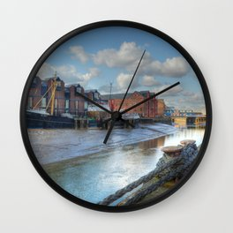 River Hull Wall Clock