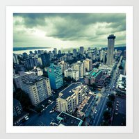 vancouver Art Prints featuring Vancouver by James Bowron