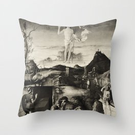 The Ascension. Bellini. Throw Pillow