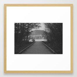 To The Lake Framed Art Print