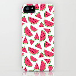 Watermelon Slices Collage iPhone Case