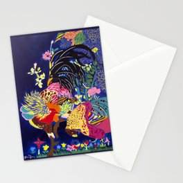 El Gallo y El Gallo Pavo Stationery Cards