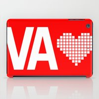 virginia iPad Cases featuring Virginia Love by Hum Chee