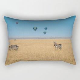 Zebras and baloons Rectangular Pillow