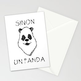 Sinon, un panda (5) Stationery Cards